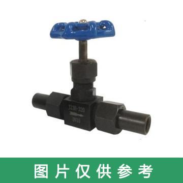 西域推荐 碳钢针型阀,J23H-320C,DN6