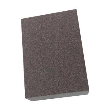 晶士霸双面海绵砂纸块,100*70*27mm,180目