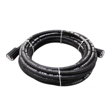 億力10M黑色鋼編高壓管含接頭,適配YLQ7550G-PLUS/7551G/7590G/7590G-PLUS/8020E/9018G-PLUS/9118G