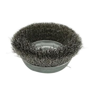 西域推荐碗型钢丝轮,304不锈钢丝刷85mm*16mm