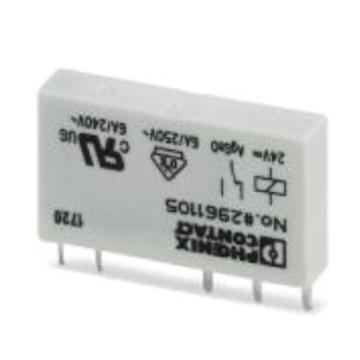 菲尼克斯PHOENIX 继电器头子,2961105REL-MR- 24DC/21(10个/包)