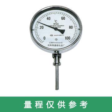 奥德普 双金属温度计,60mm 0-100℃ M14*1.5