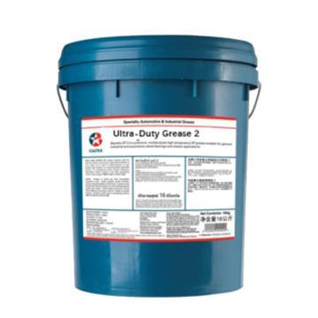 雪佛龙 重负荷极压润滑脂,2号,16kg/桶