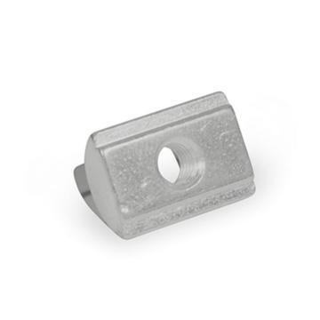 伊莉莎+岡特 T形螺母,506.2-10-M6,帶彈簧墊圈,鍍鋅