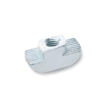 伊莉莎+岡特 T形螺母,505-10-M4-OB,鍍鋅