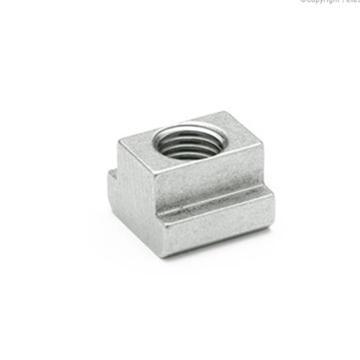 伊莉莎+岡特 T形螺母,508-8-NI,不銹鋼