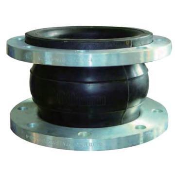 伯爾梅特 橡膠軟接頭,WW-BEJ-PN16,DN80(普通橡膠主體、碳鋼法蘭、鍛打鍍鋅)