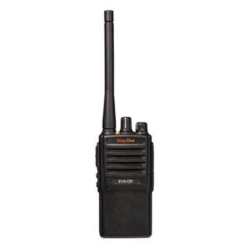 摩托罗拉 数字对讲机,Mag One EVX-C51 DMR数字对讲机 数模兼容 防水防水,适工厂,电力,工地等