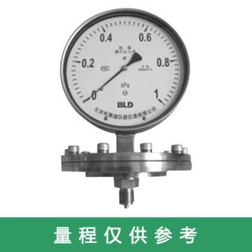 布莱迪 不锈钢膜片压力表,BF-100.AO.501.K080.F