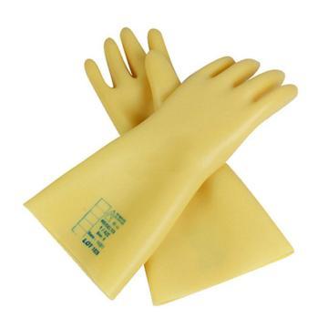 代尔塔DELTAPLUS 绝缘手套,207000-9,2.5KV