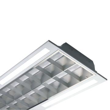欧普 LED灯盘,T/MDP11236I-Y/WH空体无光源 适配1.2米单端T8x2支 1198x398mm T型龙骨嵌入 单位个