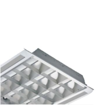 欧普 LED灯盘,T/MDP11318I-Y/WH空体无光源 适配0.6米单端T8x3支 598x598mm T型龙骨嵌入 单位个