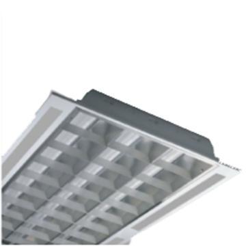 欧普 LED灯盘,T/MDP11336I-Y/WH空体无光源 适配1.2米单端T8x3支 1198x598mm T型龙骨嵌入 单位个