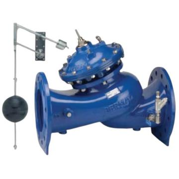 """伯尔梅特 700系列球铁浮球阀,4""""-750-66-B-PN16,DN100,双液位机械浮球,外置液位可视浮球桶"""
