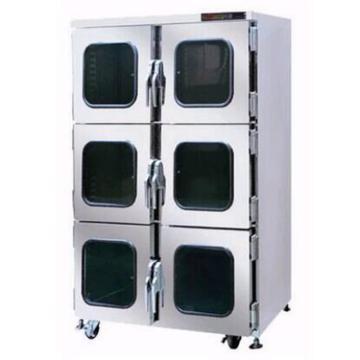 高强 氮气柜,温度显示范围:摄氏0℃~99.9℃, 工作尺寸:W1198×D645×H1618mm,susHTCML-1490-6