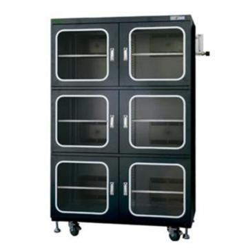 SYSBERY氮气柜,全自动,SS1436NSF,容积:1436L六门,湿度范围:1~60%RH,防静电