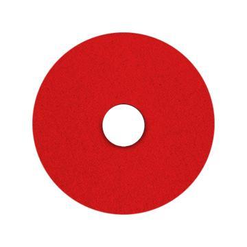 宝莎丽百洁垫抛光轮,20寸(500mm)红色