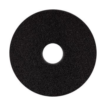 宝莎丽百洁垫抛光轮,17寸(425mm)黑色