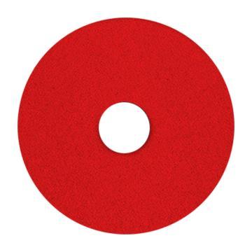 宝莎丽百洁垫抛光轮,17寸(425mm)红色