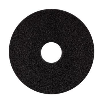 宝莎丽百洁垫抛光轮,14寸(350mm)黑色