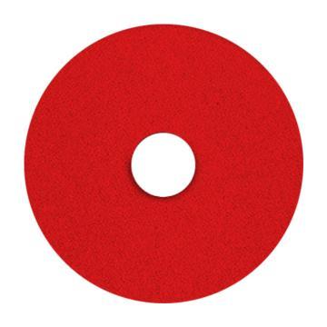 宝莎丽百洁垫抛光轮,14寸(350mm)红色