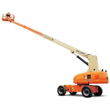 JLG 800系列柴油直臂式高空作业平台,平台最大高度(m):26.21 额定载重(kg):230,800SJ