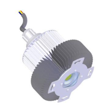 成都圣路 输煤系统LED照明灯17SL45-L.A2.A功率45W 白光 吸顶式安装含吸盘,单位:个