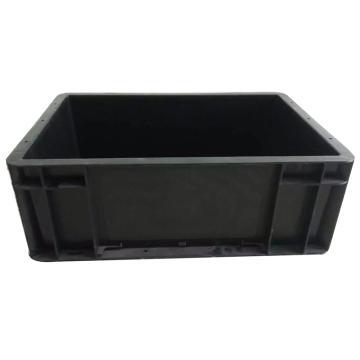 西域推薦 防靜電周轉箱,黑色,外尺寸400*300*148mm