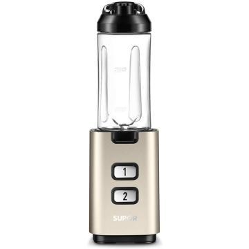 蘇泊爾(SUPOR)隨行果汁機,BS301-200 攪拌機 200瓦 0.6升 一鍵拆裝 香檳金