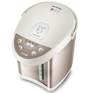 苏泊尔电热水瓶,SW-50S56A 5L容量 电水壶多段温控电热水壶304不锈刚保温除氯烧水壶