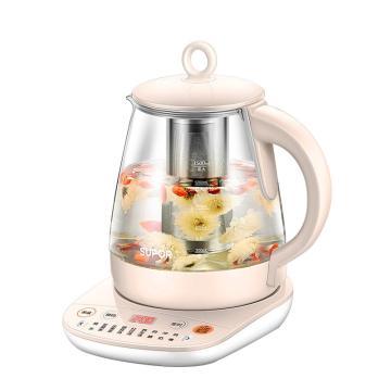 蘇泊爾養生壺,SW-15Y10 1.5L容量 加厚玻璃電燒水壺 多功能家用煮茶器 電茶壺 電熱水壺