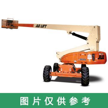 JLG E600系列伸缩悬臂升降机,平台最大高度(m):18.39 额定载重(kg):230,E600JP