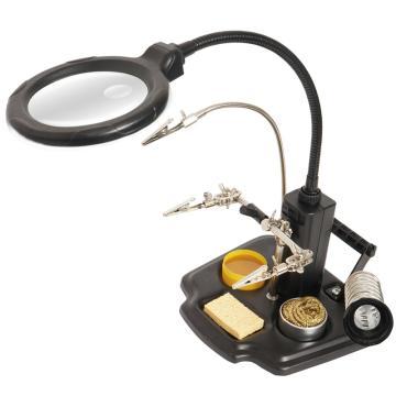 宝工Pro'sKit LED焊接台式放大镜,SN-396