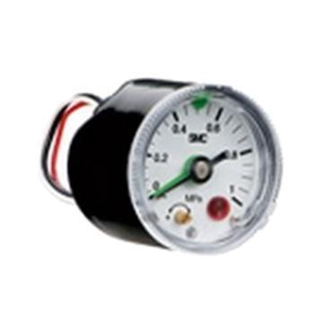 SMC 带压力开关的压力表,3C-GP46-10-02L2