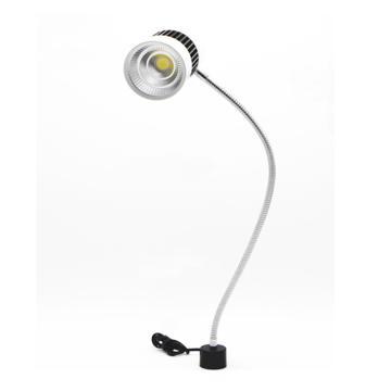 西域推荐 LED灯,YWJCD-18,LED白光,220V 18W ,360度万向软管,圆磁底座,两脚插头