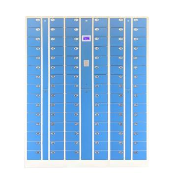 先立电子 90门IC卡手机柜,外型尺寸:H1800×W1425×D300mm