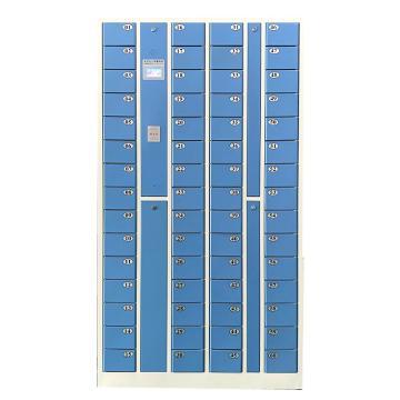 先立电子 60门IC卡手机柜,外型尺寸:H1800×W1000×D300mm