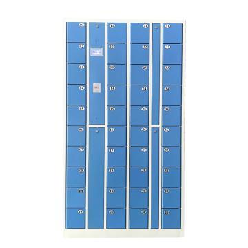先立电子 40门IC卡手机柜,外型尺寸:H1800×W1000×D300mm