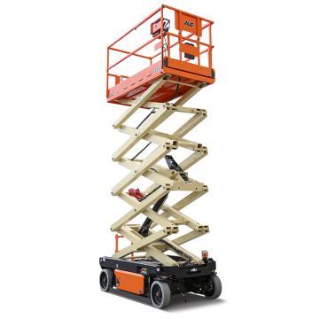 JLG R系列电动剪式高空作业平台,平台最大高度(m):9.75 额定载重(kg):120.2,R3246