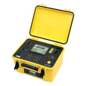 法国CA/CHAUVIN ARNOUX 高压绝缘测试仪,C.A 6555 15KV 15千伏5量程