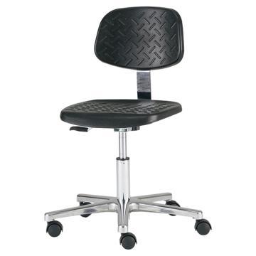 亚速旺 工作椅(一体成型座板)MWC-100RC 有环 (1个),1-2828-02