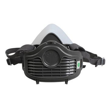 思创 半面罩套装,透明橡胶款,ST-1060T(含1片ST-1101滤棉 KN90)
