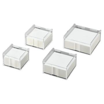 亞速旺 稱量紙用透明盒 特大用(1000片/袋),3-6797-04