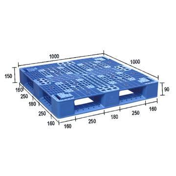 华都 田字型塑料托盘,T33 1000*1000*150 ㎜