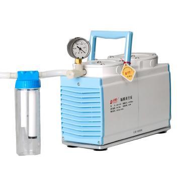 津腾 隔膜真空泵(含截流瓶),GM-0.5B