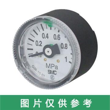 SMC G36·GA36系列,一般用压力表。带限位指示器G36-15-01