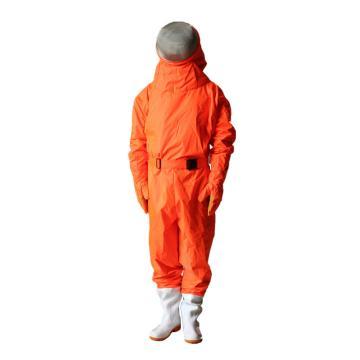 美康 橘红色防蜂服,S,MKF-09-4A