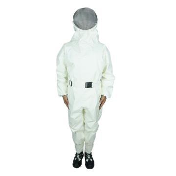美康 白色新型防蜂服,S,MKF-09-2