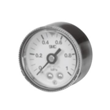 SMC 压力表,带限位指示器,禁油禁铜离子,G46E-10-02
