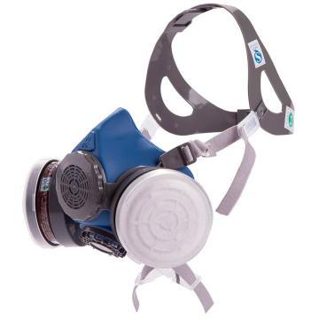 思創 硅膠防毒半面罩,ST-M60G-1B,不含濾盒